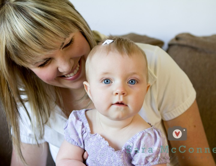 A laugh and a smile ~ Ottawa Baby Photographer