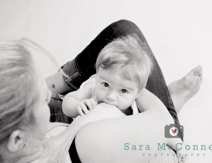 Six months old ~ Breastfeeding Photographer