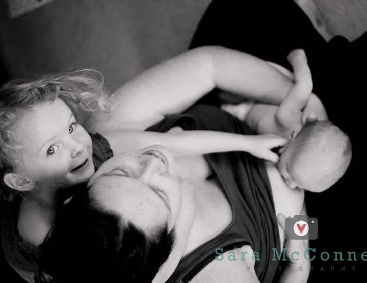 Daughters ~ Breastfeeding Photography