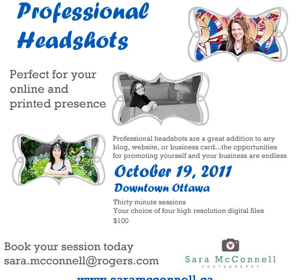 Headshot Promotion {Downtown Ottawa} ~ Ottawa Photographer