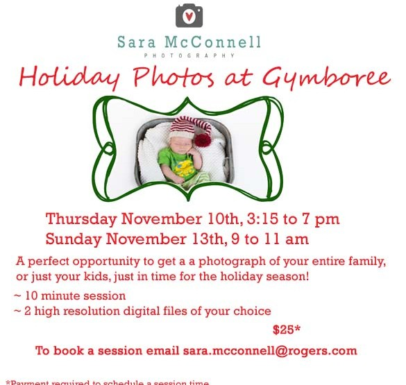 Holiday Photos At Gymboree Play & Music ~ Ottawa Family Photographer