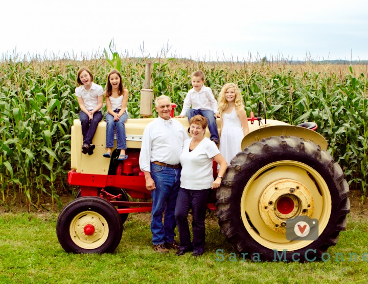 Cornfields ~ Ottawa Family Photographer