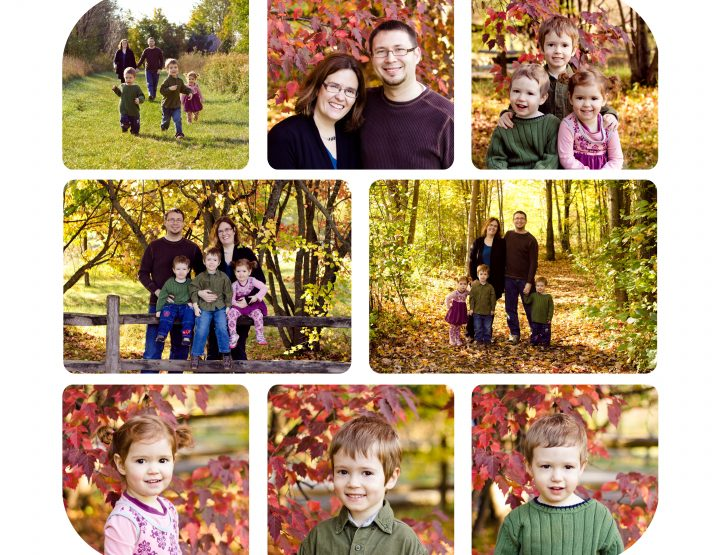 Family of Five, Fall Mini Sessions ~ Ottawa Family Photographer