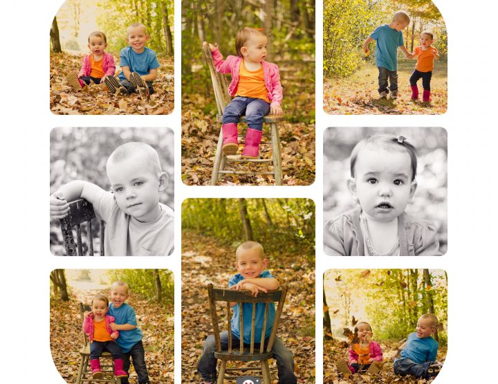 In the leaves {Fall Mini Sessions} ~ Ottawa Children's Photographer