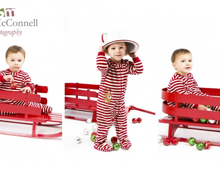 Red & white stripes ~ Ottawa Children Photographer