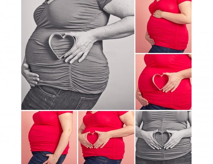 Mini Maternity Sessions / Valentine's Day Mini Sessions ~ Ottawa Photography Studio