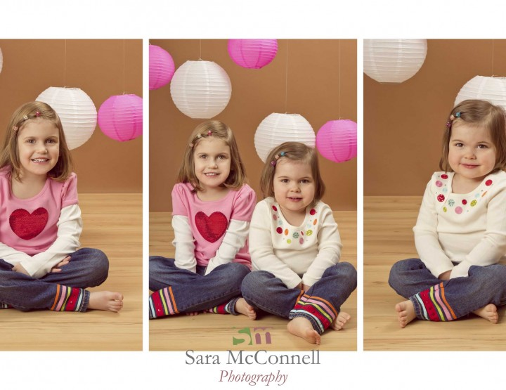 Polka dots and hearts ~ Ottawa Children's Photographer