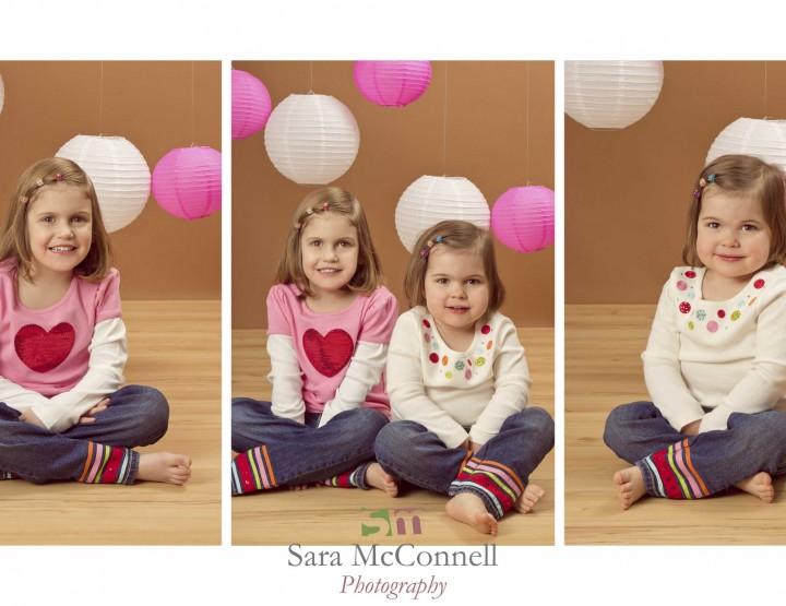Polka dots and hearts ~ Ottawa Children's Photographer