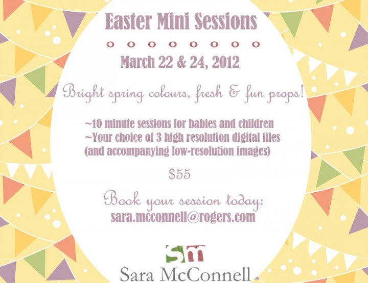 Easter Mini Sessions ~ Ottawa Photographer