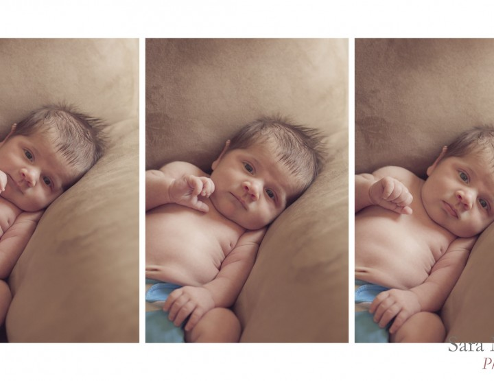 Bright eyed ~ Ottawa Newborn Photography