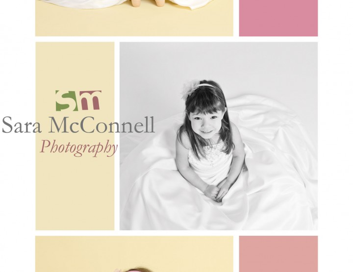 Wedding dress dress-up ~ Ottawa Child Photographer
