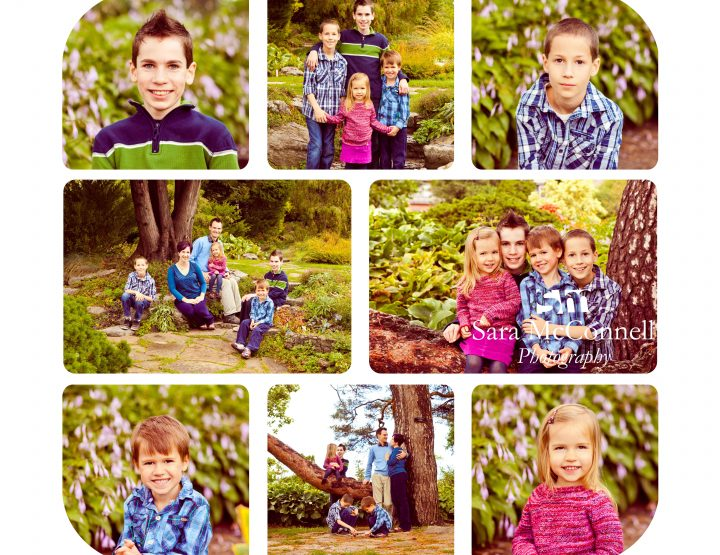 Family of Six ~ Ottawa Family Photographer