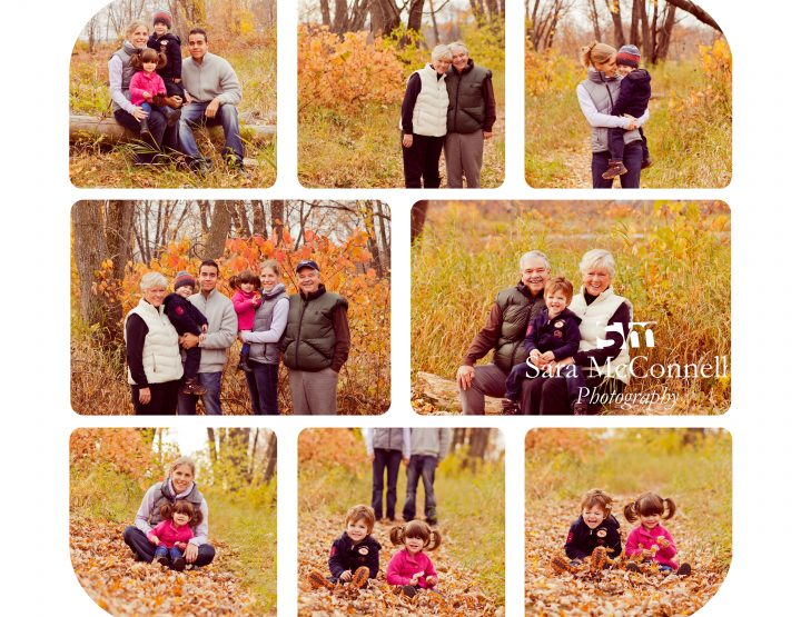 Playing in the leaves ~ Ottawa Family Photographer
