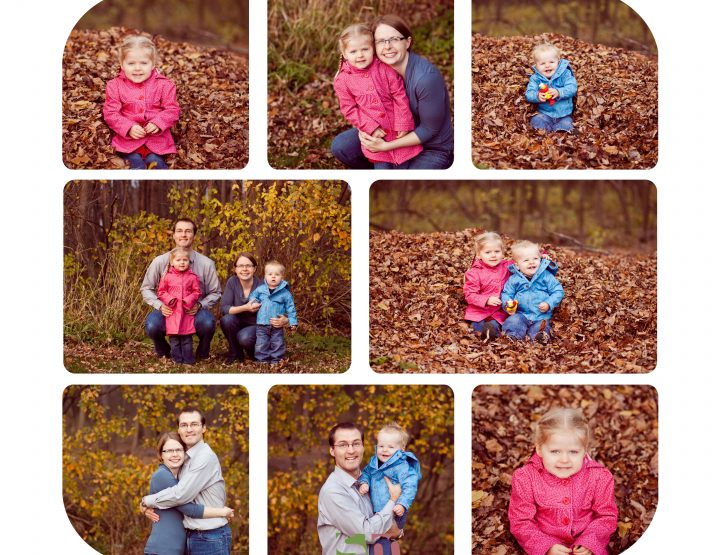 Leaf Pile ~ Ottawa Family Photographer