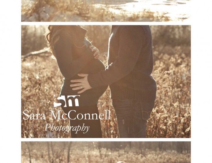 Winter Maternity Session ~ Ottawa Maternity Photographer