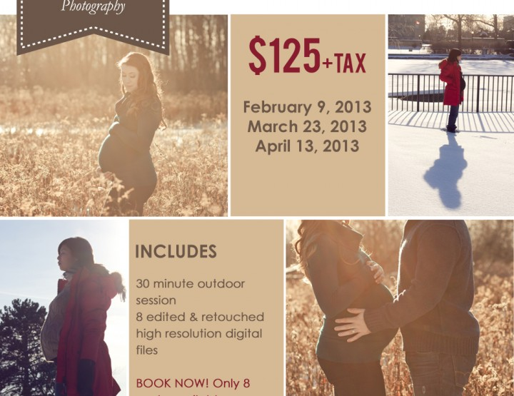 Mini Maternity Sessions ~ Ottawa Maternity Photographer