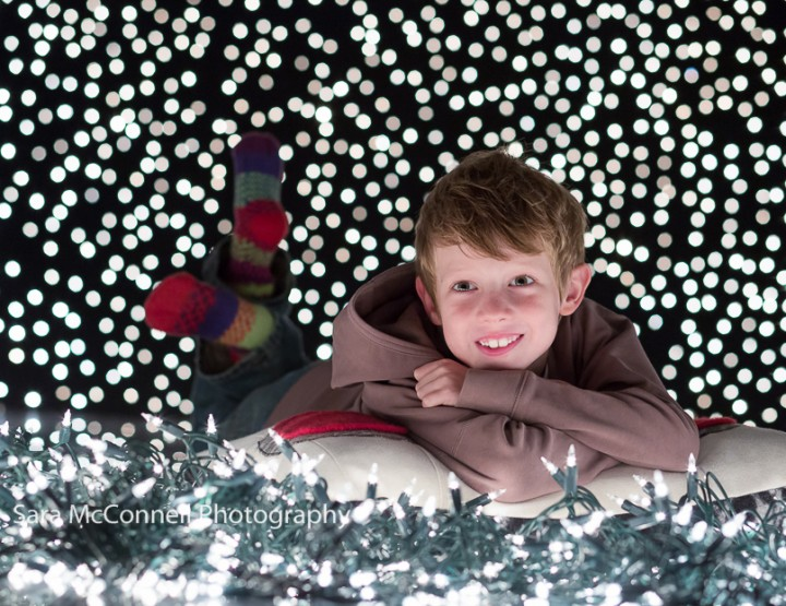 Twinkling Lights ~ Ottawa Child Photographer