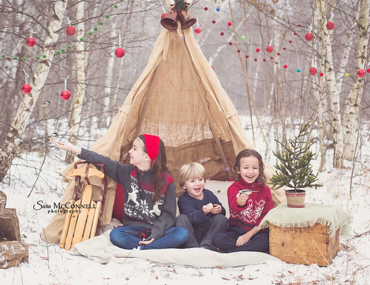 The magic of the season ~ Ottawa Family Photographer