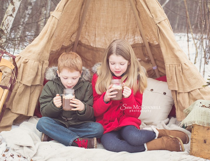 The joy of the season ~ Ottawa Family Photographer