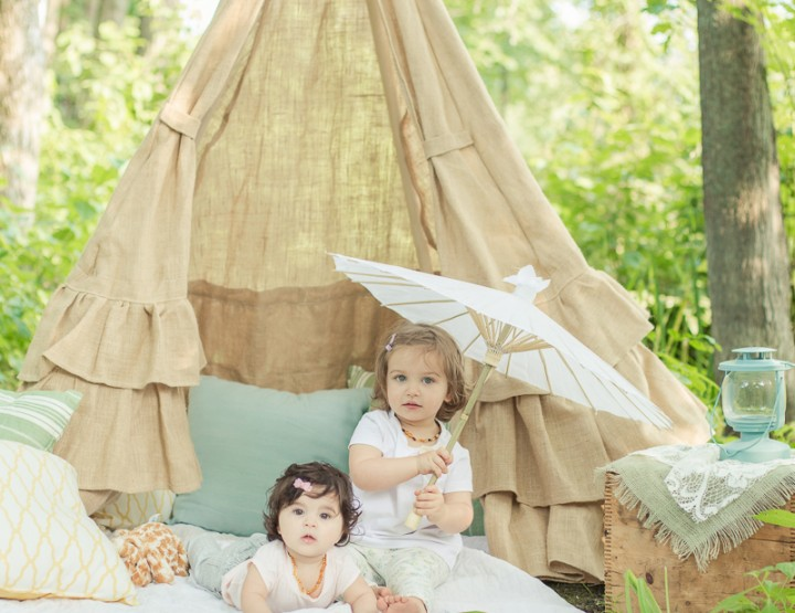 TeePee Imagination Sessions ~ Ottawa Child Photographer
