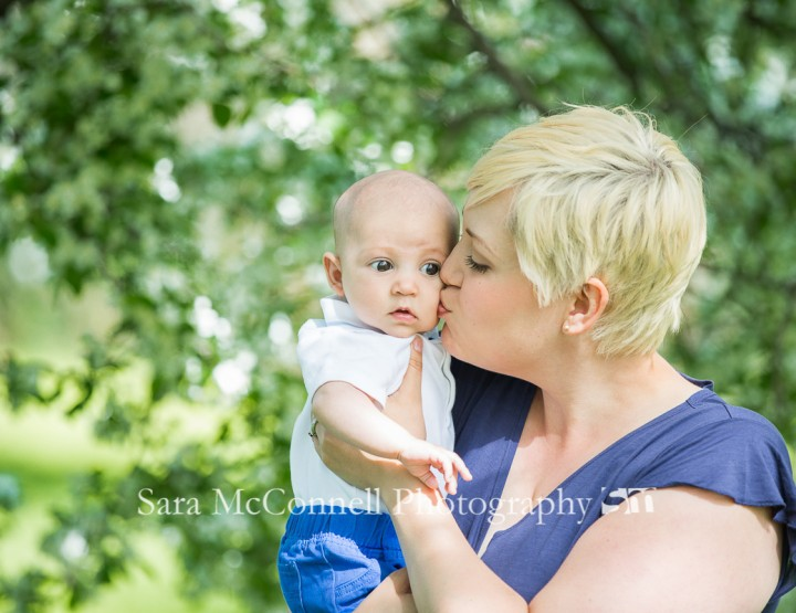 Baby in the blossoms ~ Ottawa Baby Photographer