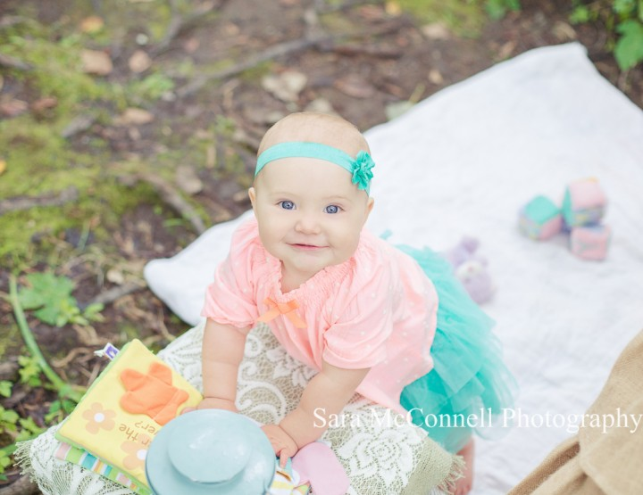 Playing in the woods ~ Ottawa Baby Photographer