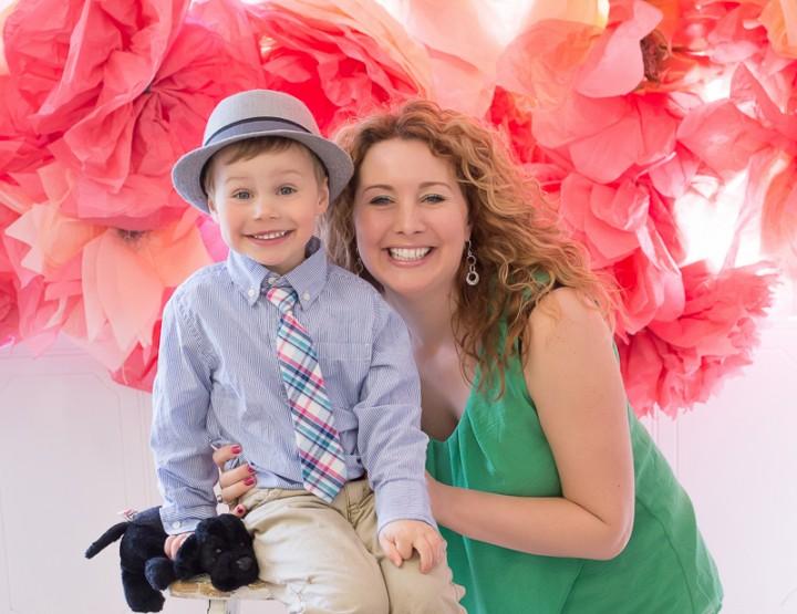 Moms & their boys ~ Ottawa Mother's Day