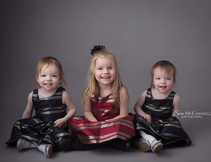 Smiles times three ~ Ottawa Child Photographer