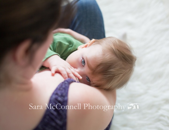 A quiet moment ~ Ottawa Baby Photographer
