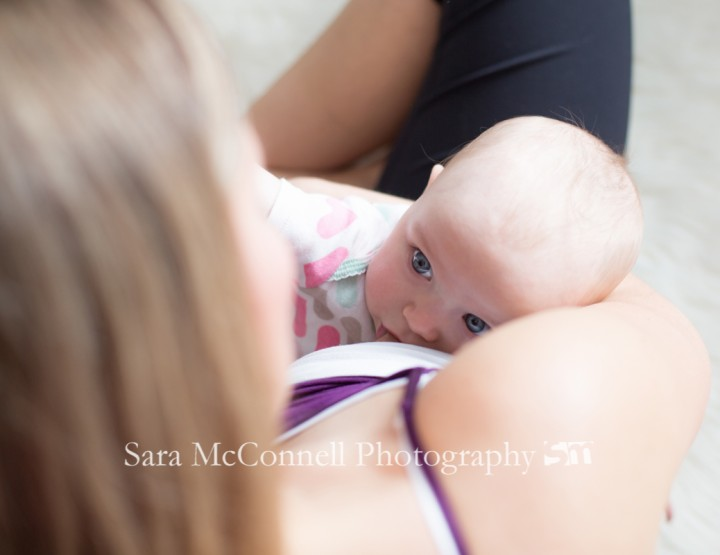 Twins ~ Breastfeeding Photography
