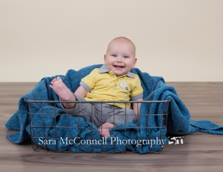 Six months old ~ Ottawa Baby Photographer