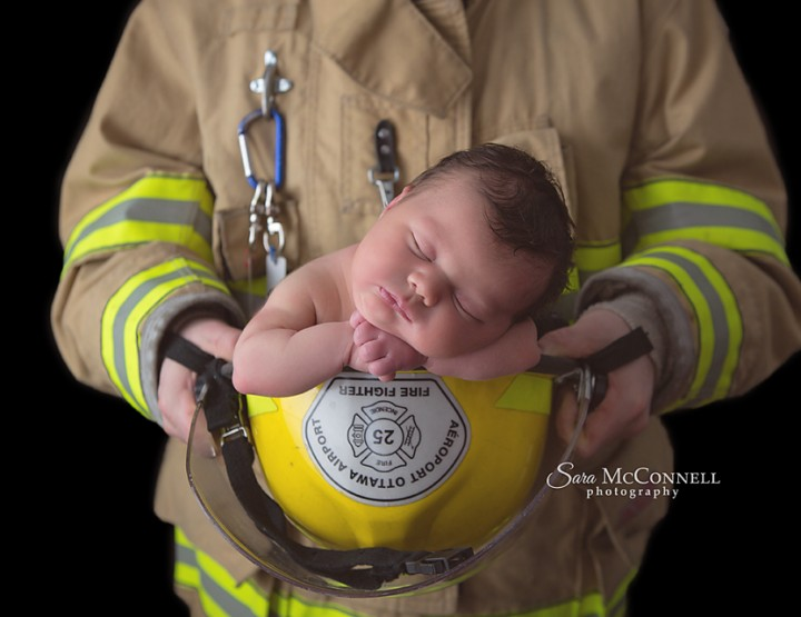 The Firefighter Family ~ Ottawa Family Photographer
