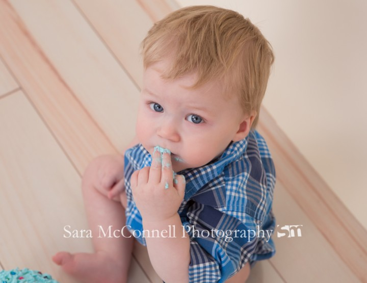 Cake smash ~ Ottawa Baby Photographer