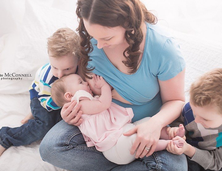 Babywearing & Breastfeeding ~ Sara McConnell Photography