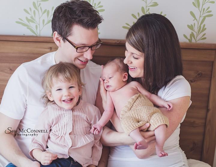 At Home ~ Ottawa Newborn Photographer