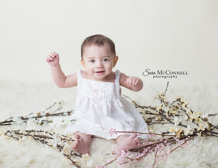 Smiles for Spring ~ Ottawa Baby Photographer