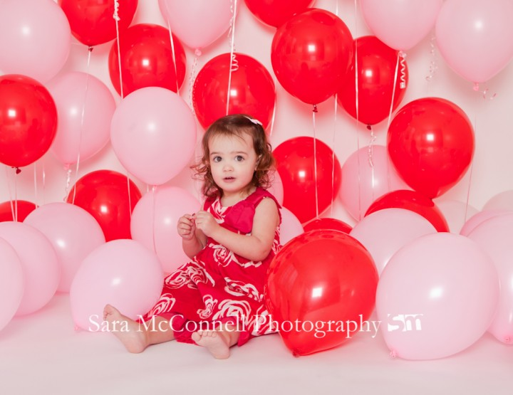 Red & Pink Balloons ~ Ottawa Valentines Photos