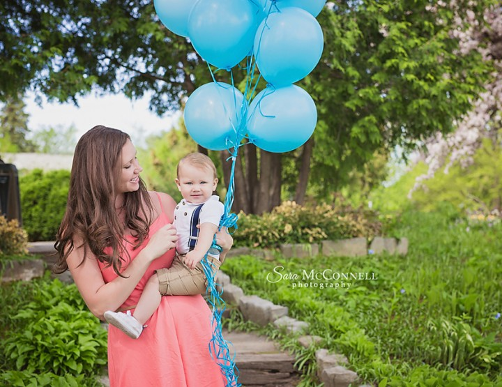 Baby Photographer Ottawa| Balloons and a Birthday!