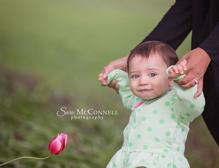 Ottawa Baby Photographer | In the Flowers