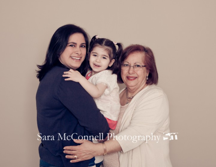 Three generations ~ Ottawa Family Photographer