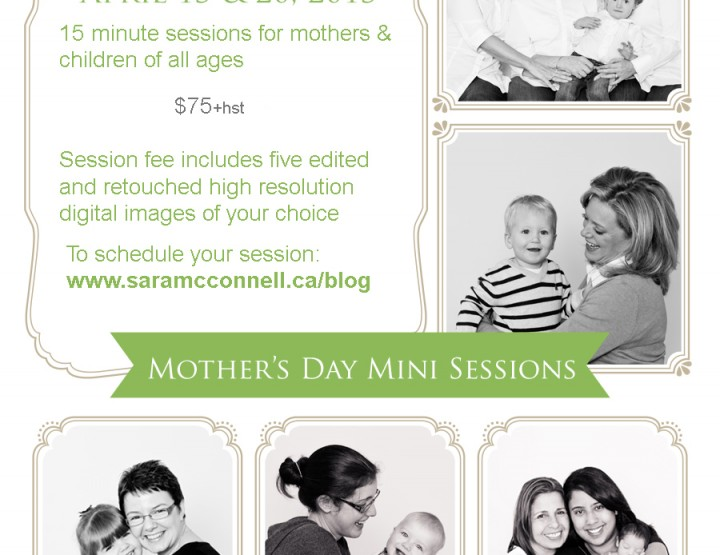 Mother's Day Mini Sessions ~ Ottawa Family Photographer