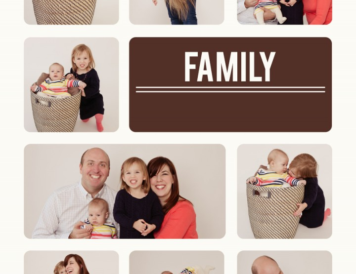 Family of Four ~ Ottawa Photography Studio