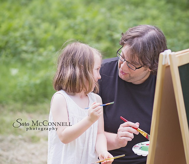 Ottawa Family Photographer | An Artful Father's Day