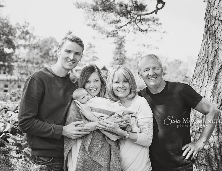 Ottawa Baby Photographer | Meet the Grandparents
