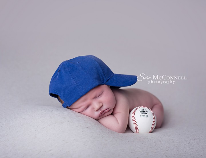 Ottawa Newborn Photographer | Play Ball!