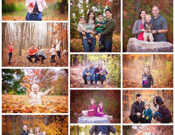 FAQ About Outdoor Fall Sessions {Ottawa Family Photographer}