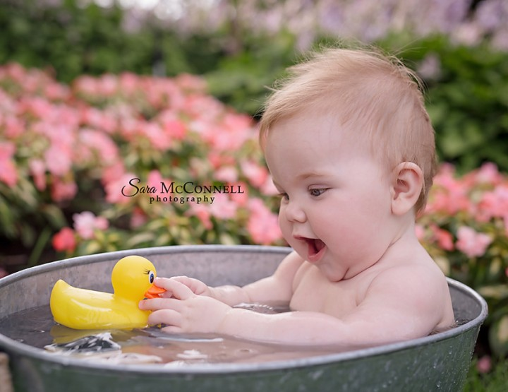 Ottawa Baby Photographer | Rubber duckie, you're the one
