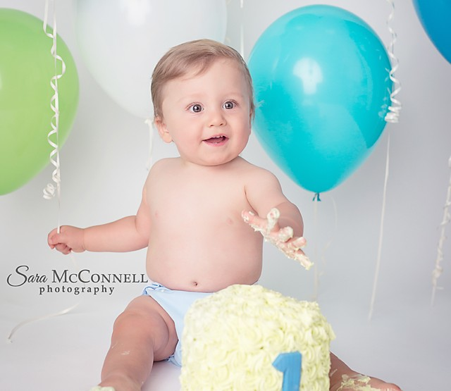 Ottawa Baby Photographer | One Day, Two Looks, Two Cakes!