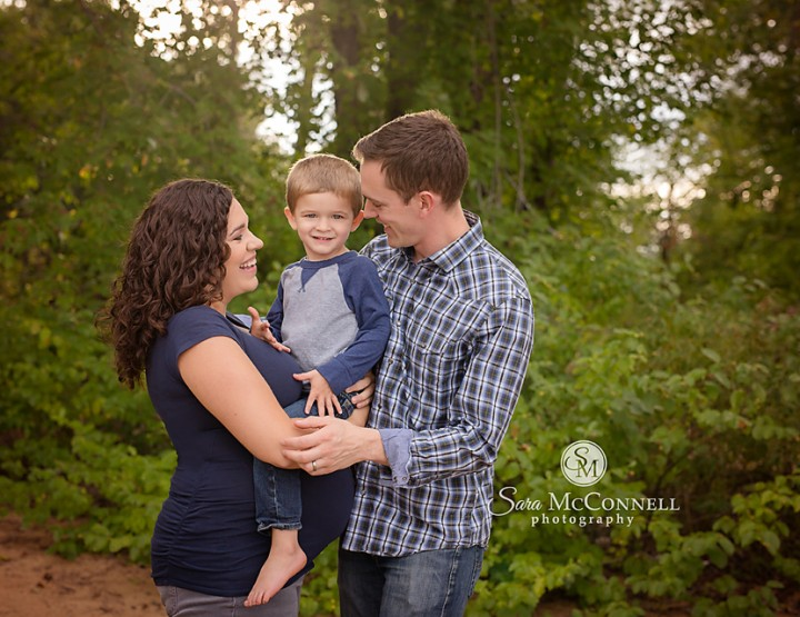 Ottawa Maternity Photographer | Why were we laughing so much?