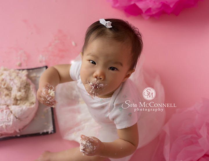 Ottawa Baby Photographer | Baby Cake Smash!